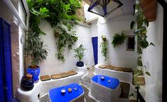 Cafe Azul in Tarifa, Spain