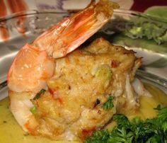 crab stuffing.
