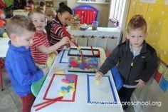 Sponge block water play by Teach Preschool Play Puzzle, Teach Preschool, Water Play, Water Activities, Splish Splash, Teaching English, Little People, Puzzles, Classroom