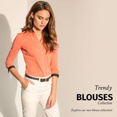 We have a new blouse collection! All garments made to fit YOUR measurements! Suits For Women, Women Wear, Photos Of The Week, Shirt Dress, Female, Womens Fashion, Shirts, Fit, Check