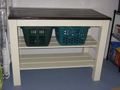 Laundry Area Table Do It Yourself Home Projects From Ana White