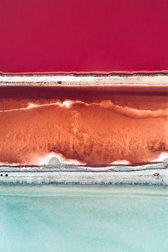 Impressive & Colorful Pictures Of Salt Production – Fubiz Media