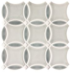 Shore Circulo Polished Porcelain Mosaic