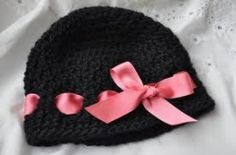 All kinds of crochet baby hat patterns. cute!