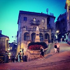 The ancient streets of San Marino wind around like a fun maze - Instagram by @Rachelle Lucas