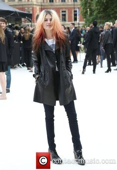 Alison Mosshart London Fashion Week Spring/Summer 2013 -...