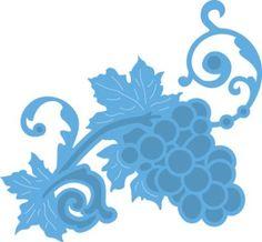Lr0366 Creatable Petra's grape - Marianne Design Creatables - Mallen - Hobbynu.nl