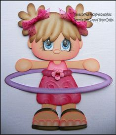 Cotillones y cuadros infantiles :: RT Decoraciones y algo más... Paper Dolls Book, Paper Book, Hollywood Decorations, Diy Paper, Paper Crafts, Art For Kids, Crafts For Kids, Doll Face Paint, Punch Art