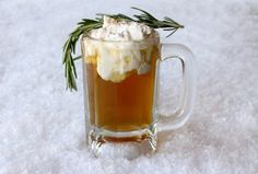 Hot Buttered Whiskey by Food Fanatic