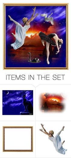 """""""Swan lake (ballet by Pyotr Tchaikovsky)"""" by m-kints ❤ liked on Polyvore featuring art"""