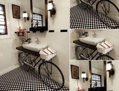 Algumas Ideias criativas para Decoração de Banheiros pequenos podem ajudar na hora de realizar a decoração do banheiro, é só usar a criatividade.