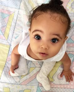 Expecting A Baby? Cute Mixed Babies, Cute Black Babies, Beautiful Black Babies, Cute Little Baby, Baby Kind, Pretty Baby, Cute Baby Girl, Beautiful Children, Little Babies