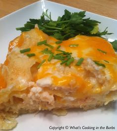 Slow Cooker Cheesy Chicken Lasagna