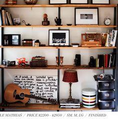 need shelf display ideas.