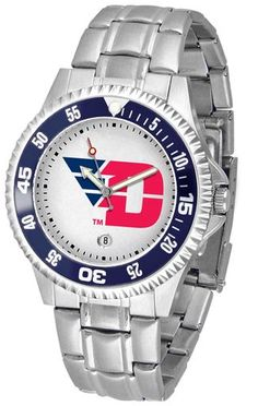 NCAA Men's Dayton Flyers Competitor Steel Watch