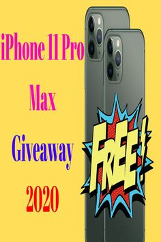 iPhone 11 Pro Max Giveaway 2020 Go to link and complete all step. International Giveaway so any one can participate this contest. Get Free Iphone, Iphone 6 S Plus, New Iphone, Iphone 5s, Iphone Cases, Win Phone, Nouvel Iphone, Free Iphone Giveaway, Online Phone