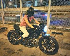 Ducati Scrambler Cafe Racer Custom Ducati Scrambler Custom, Custom Cafe Racer, Hot Wheels, Motorbikes, Biker, Cafe Racers, Motorcycles, Cars, Woman