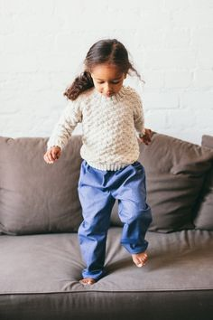 Cardigans – Merino wool sweater for children in gray, brown – a unique product by ShnopShnop on DaWanda