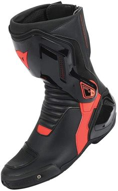 Dainese Nexus Motorradstiefel Schwarz Rot 45 Dainese - Women's style: Patterns of sustainability Best Motorcycle Boots, Biker Boots, Motorcycle Gear, Nylons Heels, Shoes Heels, Shoes Men, Neon Yellow, Unisex, Combat Boots
