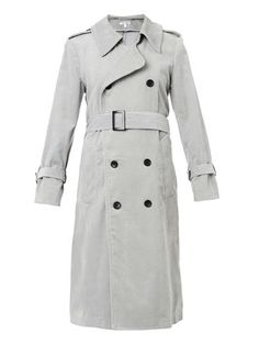 The Oversized corduroy trench coat | Charlotte Gainsbourg X Current/Elliott. $998. js