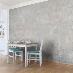 Schon Bilderwelten Vliestapete Premium Breit »Shabby Betonoptik«. Wandfarbe  BetonoptikWandgestaltung BetonoptikWohnzimmer Tapeten ...