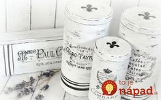 Dreams Factory: Guest post for The Graphics Fairy DIY - French inspired grain sack tin boxes - Tutorial cutii metalice frantuzite Transfer Images To Wood, Decoupage, Scrapbook Expo, Graphics Fairy, Cricut Tutorials, Tin Boxes, Vintage Labels, Transfer Paper, Heat Transfer