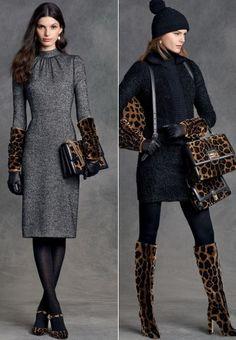 Модные леопардовые сумки сезона осень-зима 2015-2016