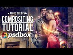 Video: Composite & Light Effects Tutorial - PSD Box