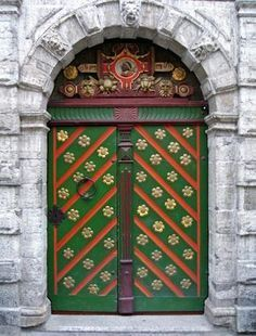 door from another time