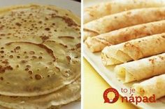 They're not only easier to make than you think, they are flat out easy to make! It seriously only takes a few tries. Croatian Recipes, Crepe Recipes, Crepes, Breakfast Recipes, Sweet Tooth, Sweet Treats, Food And Drink, Sweets, Vegan