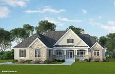 Home Plan The Flagler by Donald A. Gardner Architects