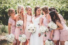 Jacquelynn Brynn Wedding Photography, Karma, lake chelan, winery wedding, chelan bride, bridesmaids, pink