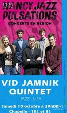 Le jazzman Vid Jamnik et son vibraphone seront entourés d'Allison Burik (saxophone alto), Justin Salisbury (piano) Giuseppe Cucchiara (contrebasse) et Tito Pascoal (batterie).