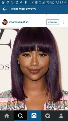 Bob hairstyles women black length medium for