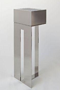HÉLÈNE & OLIVIER LEMPEREUR | Valet Tray | Inox poli miroir | 2013