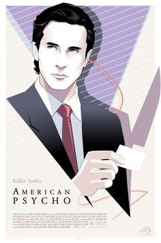 BROTHERTEDD.COM - brokehorrorfan: Mondo will release an American... American Psycho Film, Alex Pardee, Alien Covenant, Ace Books, Arkham City, Pop Culture Art, Wonder Woman, Glitch Art, Archie Comics