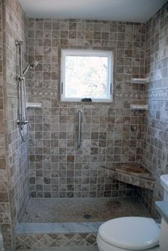 Tile Shower With Bench Bath Remodel Honey Do Handyman