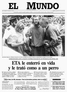 ORTEGA LARA: El primero de julio de hace 20 años se ponía fin a dos largos secuestros: José Antonio Ortega Lara, funcionario de prisiones, y Cosme Delclaux Zubiría, empresario. Ortega pasó en p