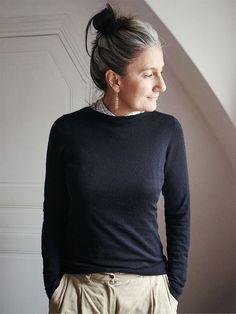 Sophie Fontanel: passer aux cheveux blancs et l'assumer - Châtelaine