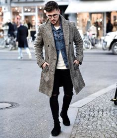 Stylish on a cold weather