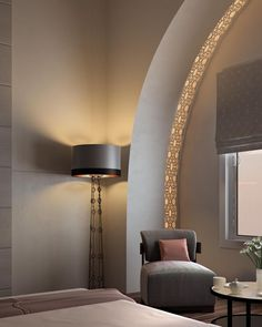 Mimar Interiors. Floor Lamp by DENİZ TUNC.