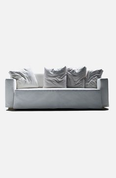 Mattress size: mm Flexform have produced the Holy Grail of sofabeds: a superlatively comfortable sofa that is also an equally comfortable bed. The sliding seat platform also has the added feature of creating an extra deep sofa. Outdoor Sofa, Outdoor Furniture, Outdoor Decor, Extra Deep Sofa, Comfortable Sofa, Sofa Furniture, Couch, Sofa Beds, Sofas