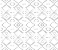 Navajo - Gray by kimsa Rideaux chambre