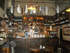 french cafe interior | consideration of Buenos Aires | Random Literary Blogging