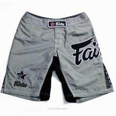 Fairtex Board Shorts Micro Fiber Fabric Black//Camouflage Design AB5