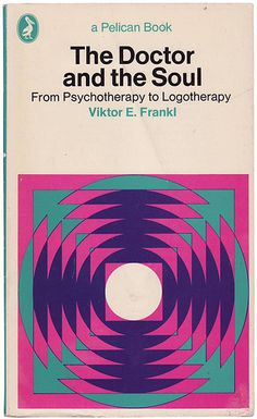 Vintage Penguin Book  Viktor E. Frankl 'The Doctor and the Soul: From Psychotherapy to Logotherapy' #vintage