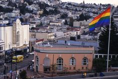 castro station san francisco | ... sized Rainbow Flag in the Castro will be lowered to half mast tonight