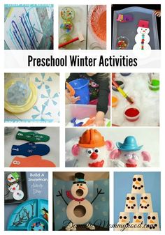 The winter months are on the horizon and it's hard to keep the young ones busy inside without them becoming bored. These great preschool winter activities will help you keep your kids busy and having fun threw those long winter months! Preschool Winter Activities Math Game for Kids: Cute Counting Snowman by CBC CA Snowman …