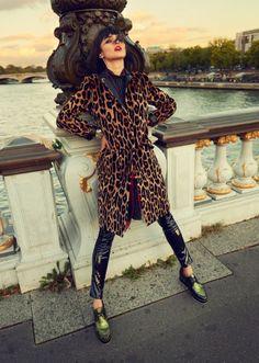 Leopard luxe.