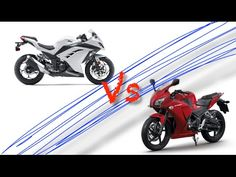 NInja 300 Vs honda CBR 300, Video HD